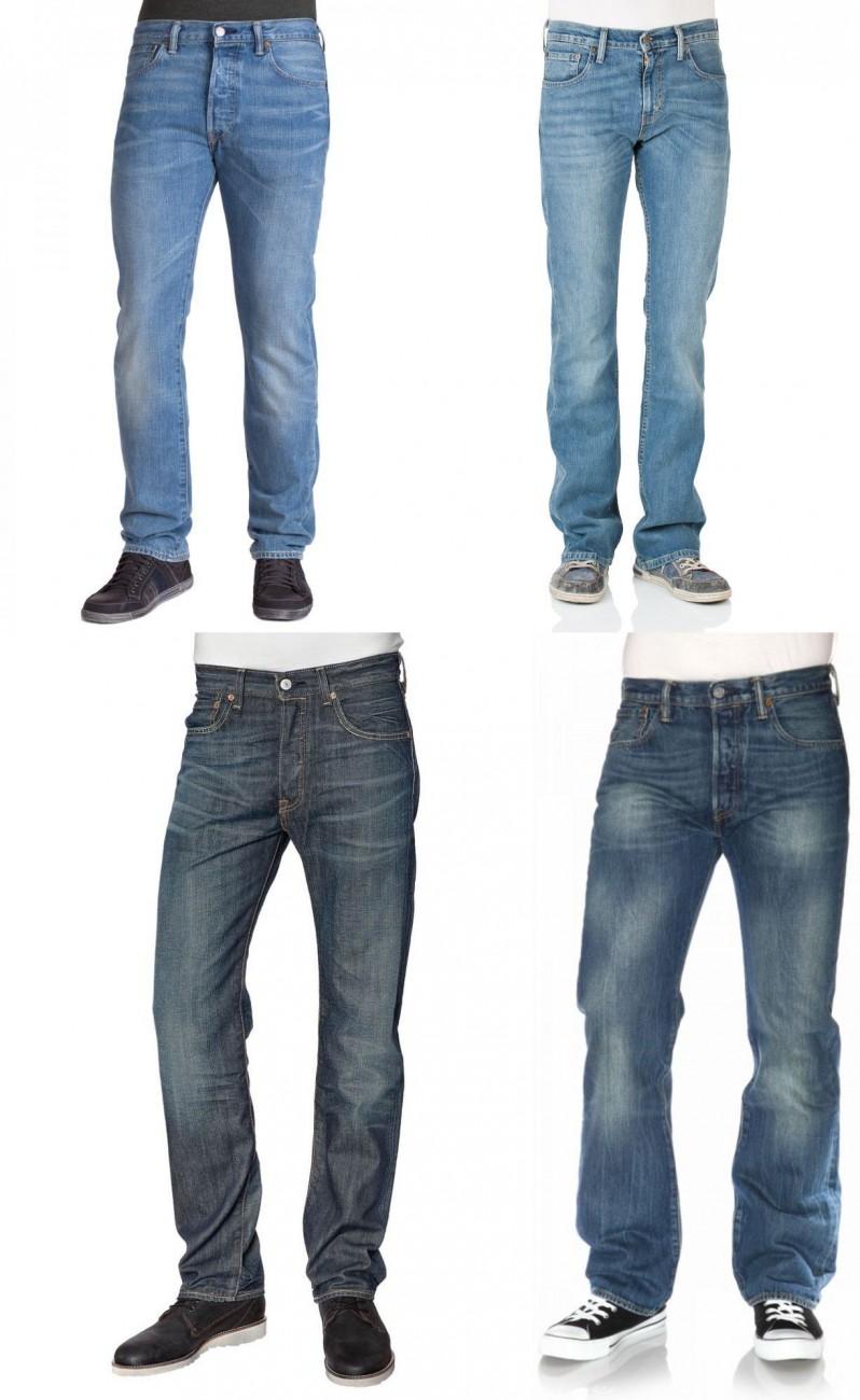 Levis-Jeans-508-501-527-Sonderposten-verschiedene-Waschungen-neu