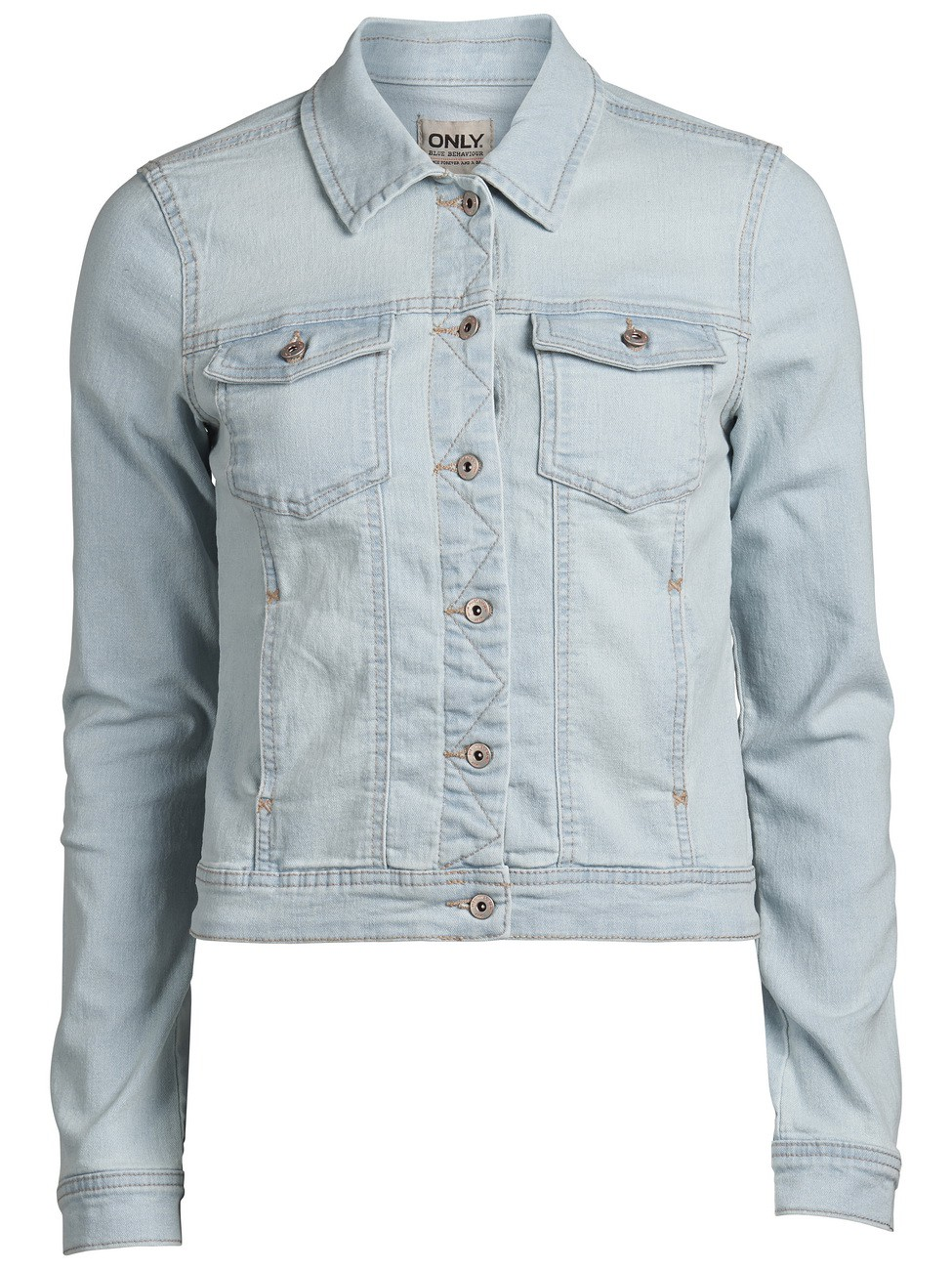 Only-Damen-Jeansjacke-WESTA-DENIM-JACKET-PIMSL13-NOOS-light-blue-neu